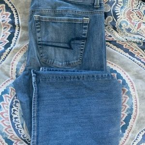 American Eagle Bootcut Light Wash Jeans